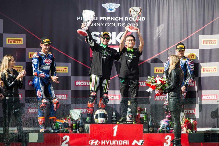 MotoGP | SBKフランス:レイ、史上初の5連覇を達成。2戦を残して2019年シーズンのチャンピオンに輝く