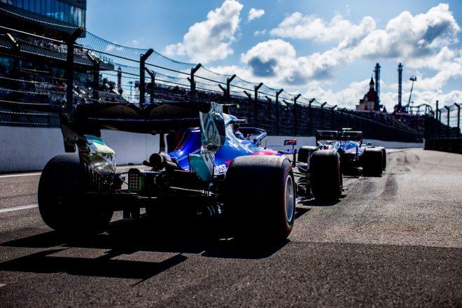 2019年F1第16戦ロシアGP日曜 ピエール・ガスリー(トロロッソSTR14・ホンダ)