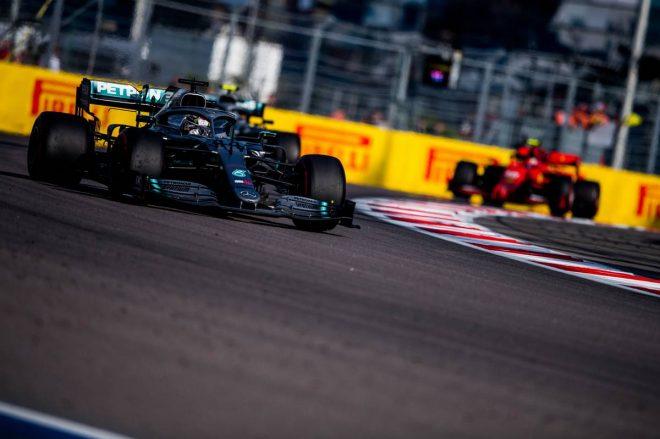 2019年F1第16戦ロシアGP ルイス・ハミルトン(メルセデス)