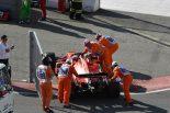 F1 | ベッテル、チームオーダー無視の後、トラブルでリタイア「シャルルとの協定はあったが、大した内容ではない」:フェラーリF1