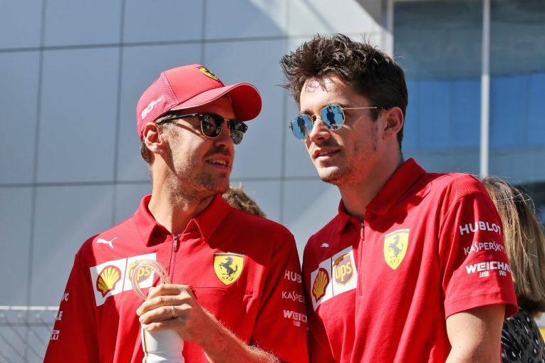 F1 | ハミルトン、ベッテルの境遇に同情「フェラーリはルクレールを優先しつつある」