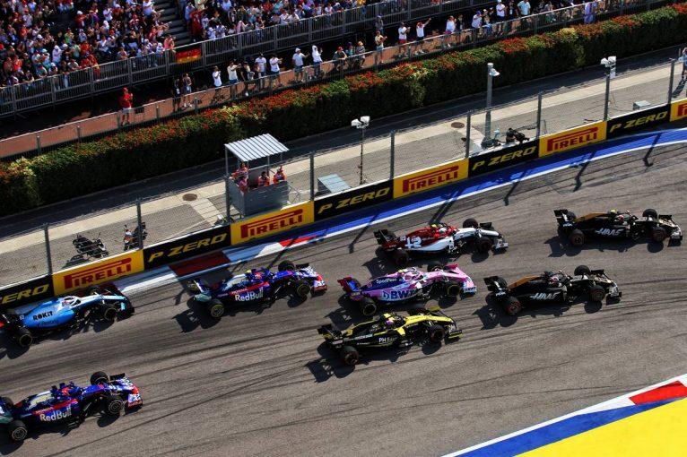F1 | グロージャン「マシンに競争力があったのに1周目でリタイアは辛い」:ハース F1ロシアGP日曜