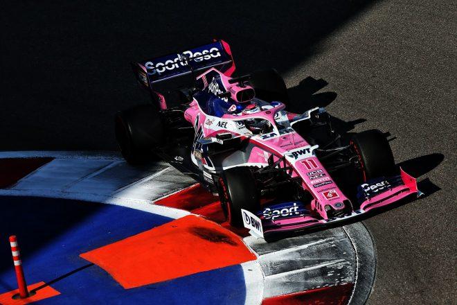 2019年F1第16戦ロシアGP セルジオ・ペレス(レーシングポイント)