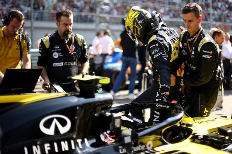 F1 | ヒュルケンベルグ10位「何もかもうまくいかなかった。速さがあるのに1点しか獲れなくて悔しい」:ルノー F1ロシアGP