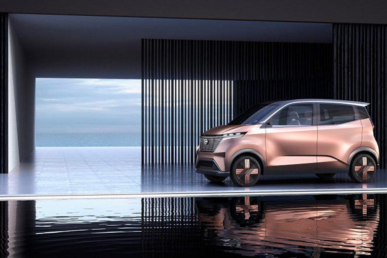 クルマ | ニッサン、東京モーターショーでEVコンセプトカー『IMk』を世界初公開