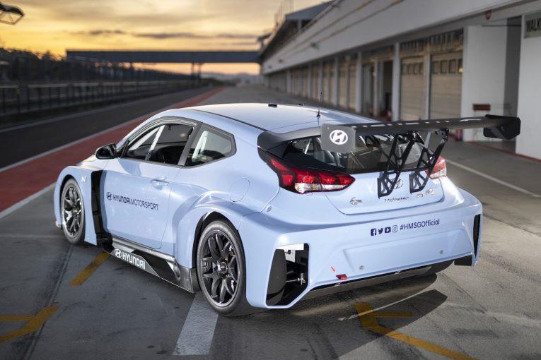 海外レース他   電動ツーリングカー『ETCR』にホンダ車も登場か。ヒュンダイは自社製『ヴェロスターN ETCR』シェイクダウン