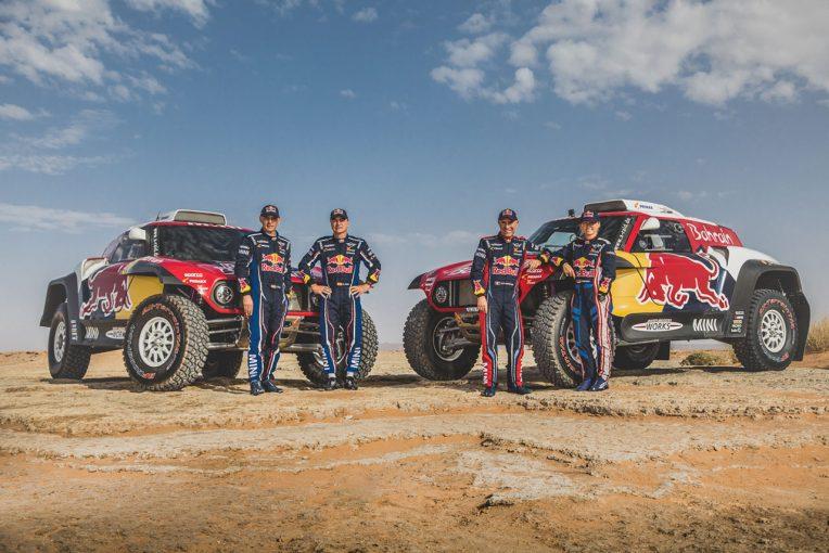 ラリー/WRC | X-raid、2020年ダカールラリーに改良型ミニJCWバギー投入。カルロス・サインツとペテランセル夫妻起用