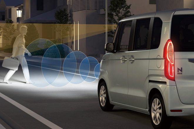 Honda SENSINGは該当のない夜間の歩行者検知も進化