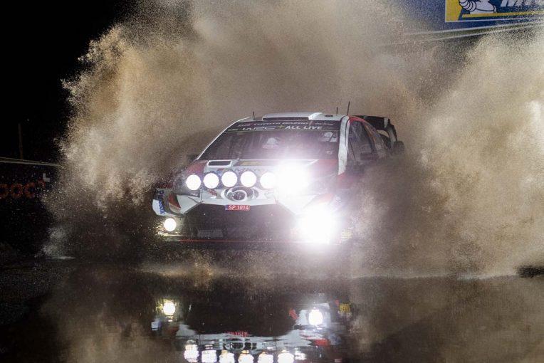 ラリー/WRC | WRC:ラリーGB開幕! 大雨の初日はミーク首位、元王者ペター・ソルベルグが3番手に
