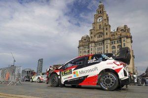 ラリー/WRC | 【順位結果】2019WRC第12戦ラリーGB SS1後