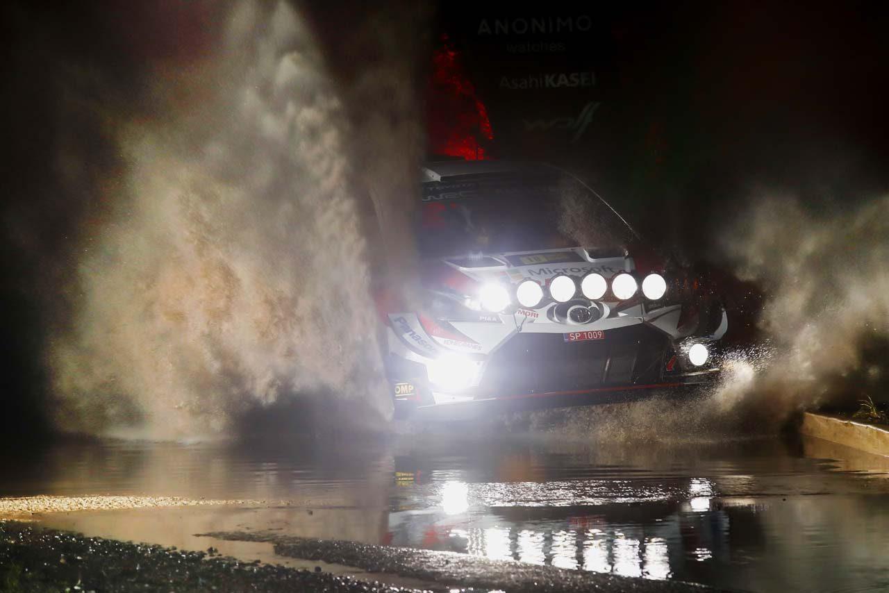 WRCラリーGB:トヨタ、ミークが首位発進。13番手に沈んだタナクは「ストールして数秒を失った」