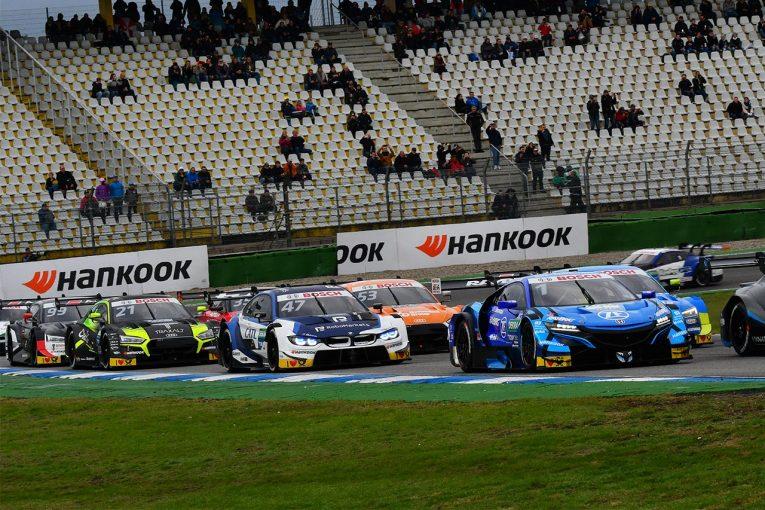 スーパーGT | ドライとなったDTM第9戦ホッケンハイムでGT500とDTM車の差は接近。バトン&NSXが15番手