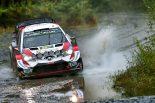 ラリー/WRC | WRC第12戦ラリーGB:2日目はトヨタ2台が表彰台圏内。「チームとしても満足している」とマキネン