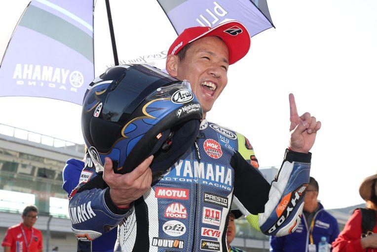 MotoGP | 中須賀、終盤で野左根を引き離そうとするも「しっかりついてきて離せなかった」/全日本ロード第7戦レース1会見