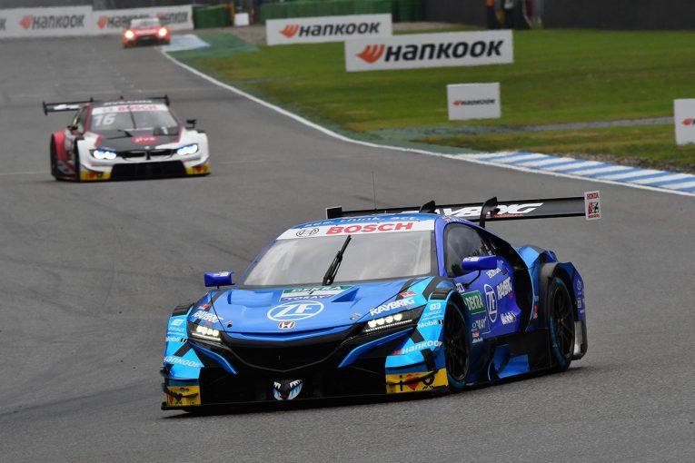 スーパーGT | DTM第9戦ホッケンハイムR1予選速報:慣れない雨のなかNSX&バトンがレース1の予選6番手を獲得