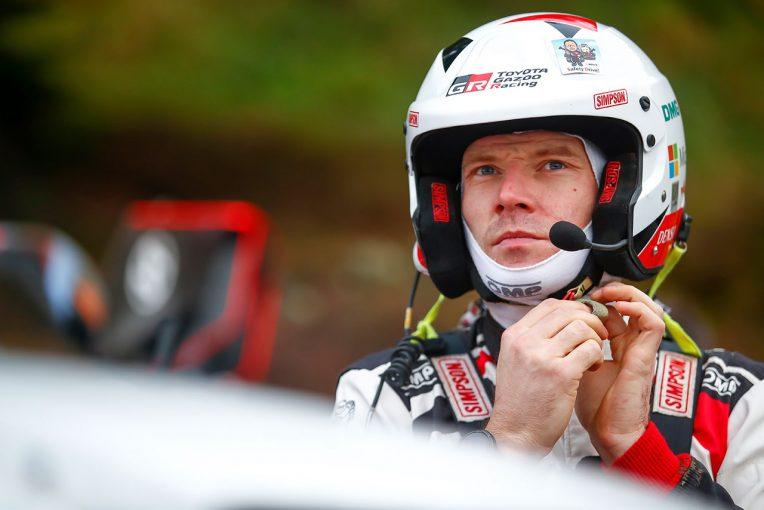 ラリー/WRC | 大会リタイアのラトバラ「ほんの少し速度が高く、遠くに飛んだだけだったが……」/2019WRC第12戦ラリーGB デイ2後コメント