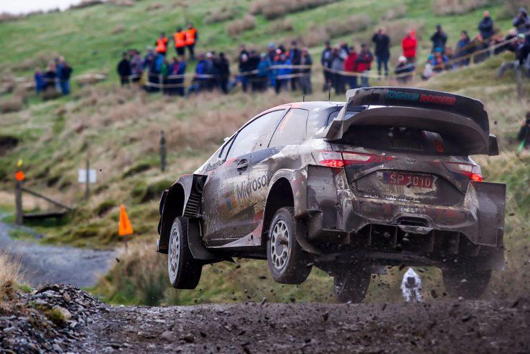 ラリー/WRC | 【順位結果】2019WRC第12戦ラリーGB SS17後