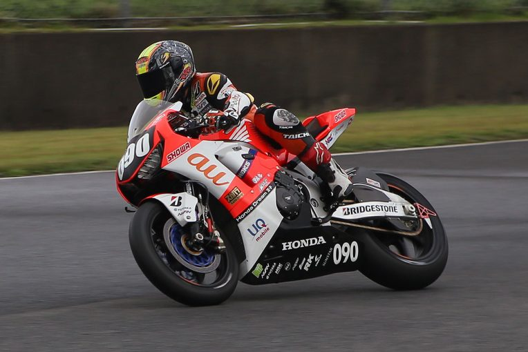MotoGP   セミウエットで秋吉がトップ/【タイム結果】2019全日本ロード第7戦オートポリス ウォームアップ走行