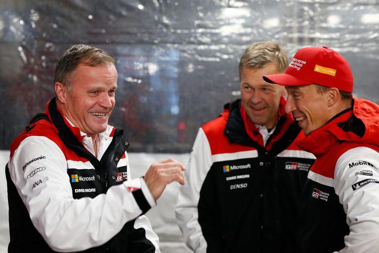 ラリー/WRC | WRC:トヨタ、ラリーGB制覇へ視界良好。マキネン、「最終日に向けて、2台ともいい位置につけている」