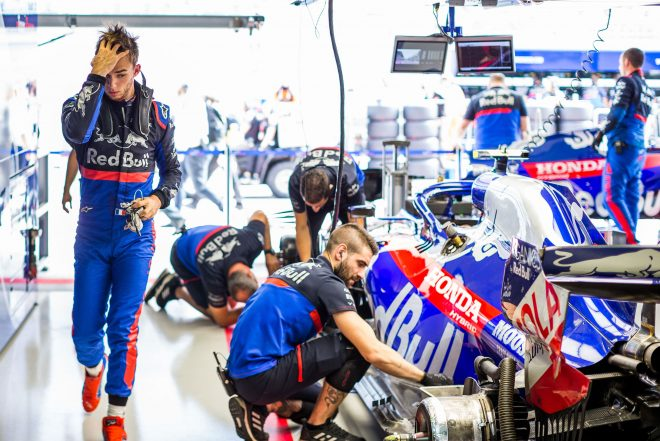 2019年F1第16戦ロシアGP ピエール・ガスリー(トロロッソ・ホンダ)
