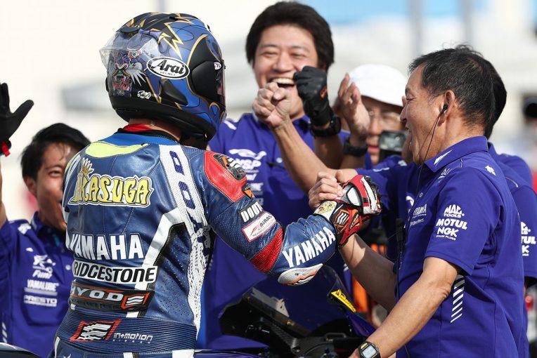 MotoGP | 完全制覇の中須賀、最終戦はホンダ×高橋に「どこまで通用するのか楽しみ」/全日本ロード第7戦レース2会見