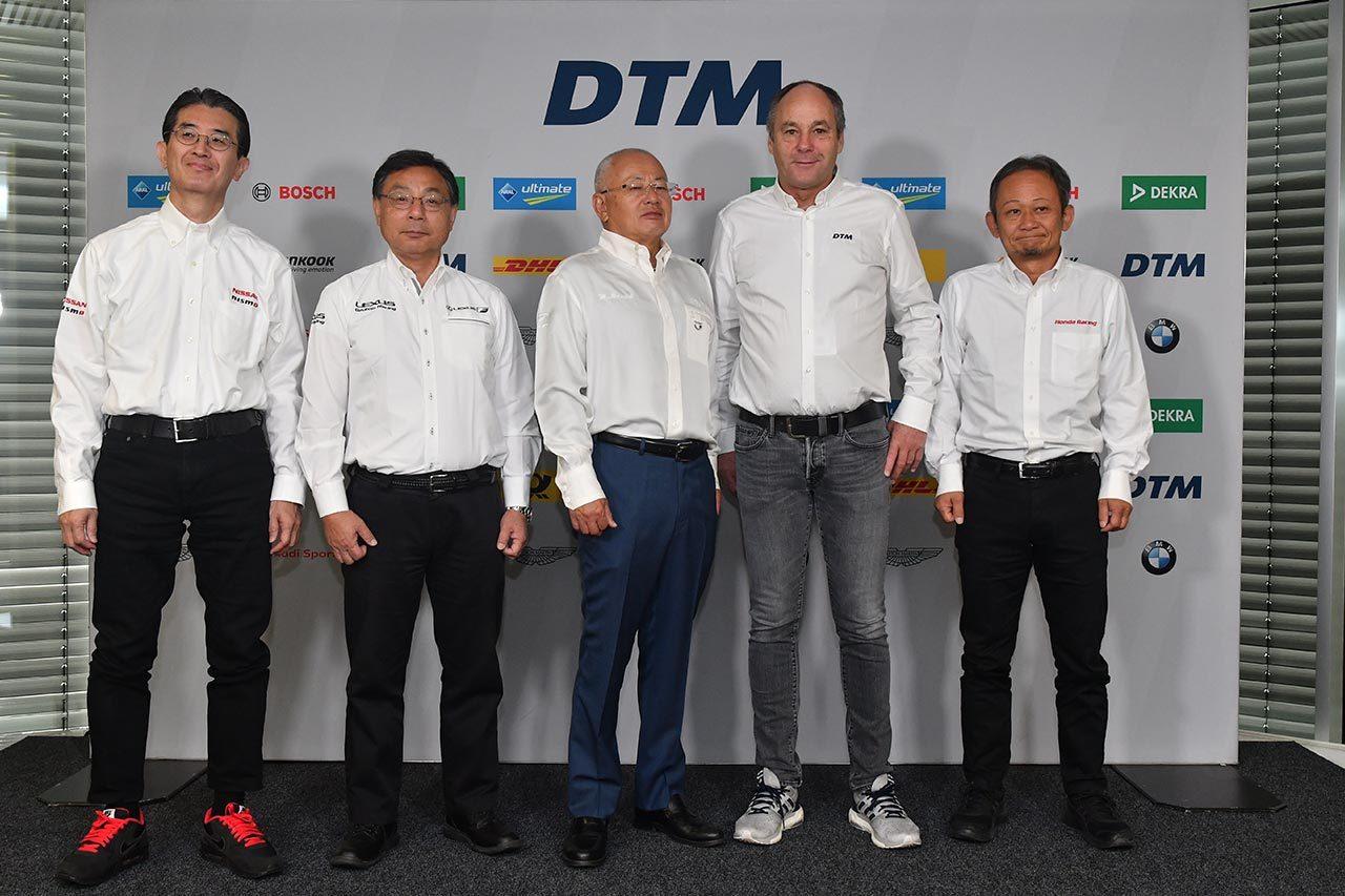 「これが第一歩」DTM第9戦ホッケンハイムへのGT500ゲスト参戦に両シリーズ代表が喜び