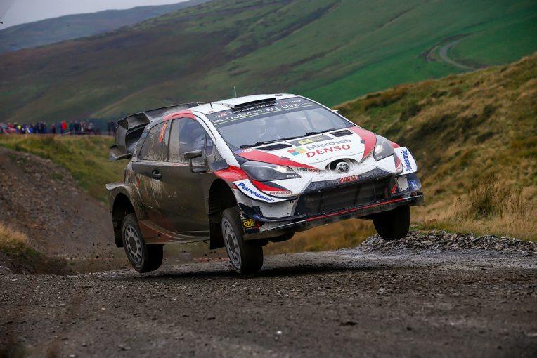 ラリー/WRC   WRC第12戦ラリーGB:トヨタのタナクが2019年シーズン6勝目。チャンピオン獲得へリード広げる