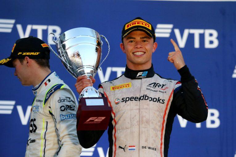 F1   F2王者デ・フリース、F1チームとの交渉実らず、2020年参戦を断念
