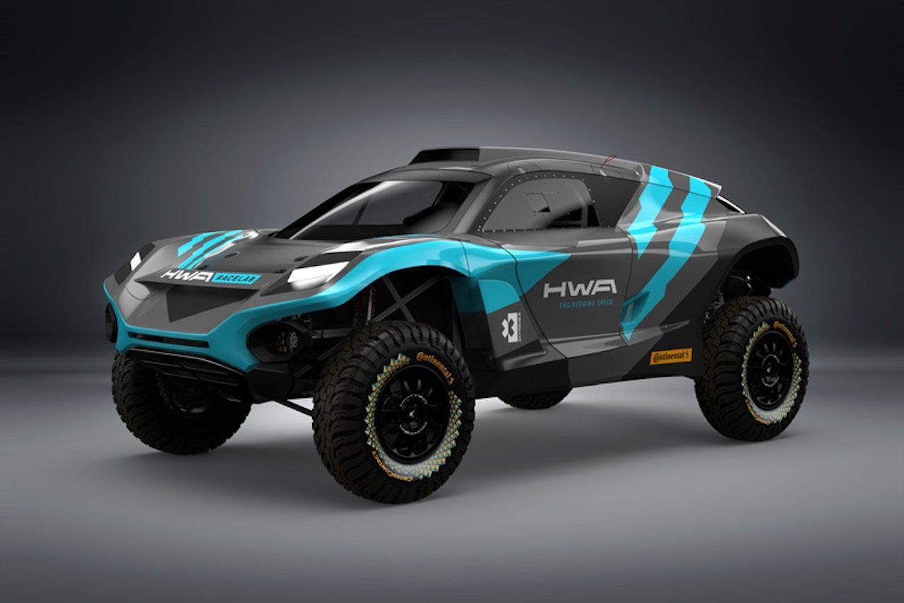 電動SUV『エクストリームE』参戦のHWAがマシン初公開。2戦目の舞台は南米アマゾンに