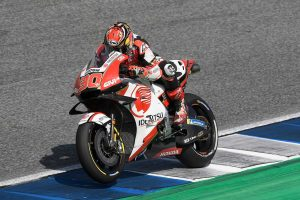 MotoGP | MotoGPタイGP:中上、新投入のカーボンスイングアームで10位フィニッシュ。「より安定した走りが実現できる」
