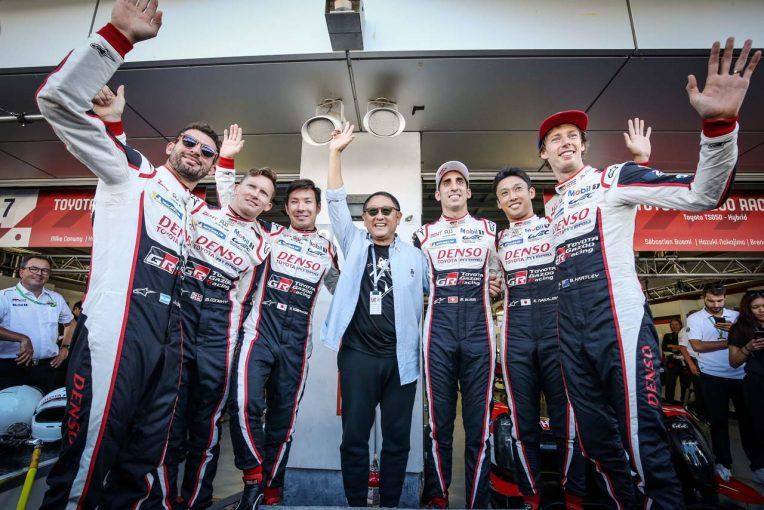 ラリー/WRC | 豊田章男総代表、トヨタのWEC&WRCダブル優勝を喜ぶ「6月までは同時に勝つことに強いこだわりは持っていなかった」