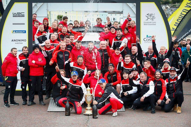 ラリー/WRC | トヨタのタナク、第13戦スペインで王座獲得の可能性【ポイントランキング】2019WRC第12戦ラリーGB終了時点