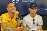 F1   ルノーF1首脳、リカルドとオコンの激しいライバル関係を予想「難しい対応を強いられるかもしれない」