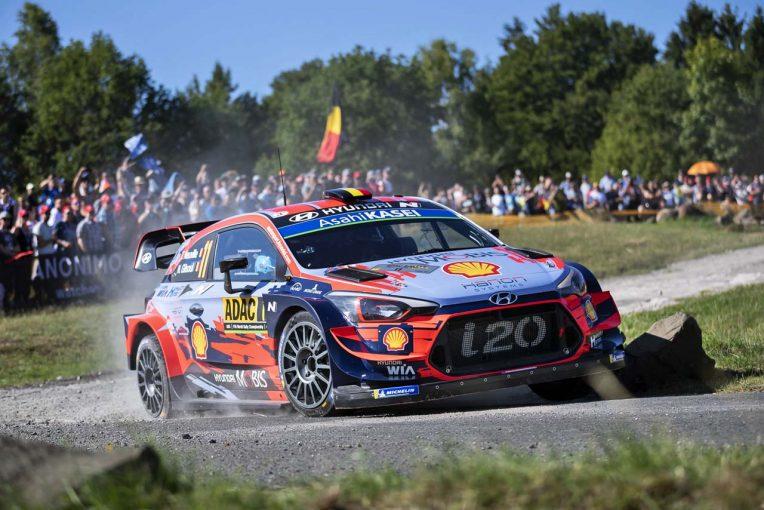 ラリー/WRC | 日本初の現行WRカー対決はお預け。ヒュンダイがセントラル・ラリー参戦計画を取り消す