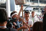 WEC富士のイベントで行われた玉入れの様子