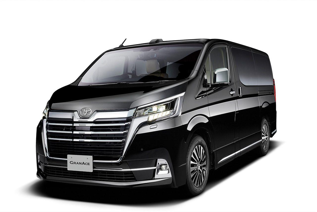新型車グランエース(東京モーターショー2019 トヨタ車体ブース展示モデル)