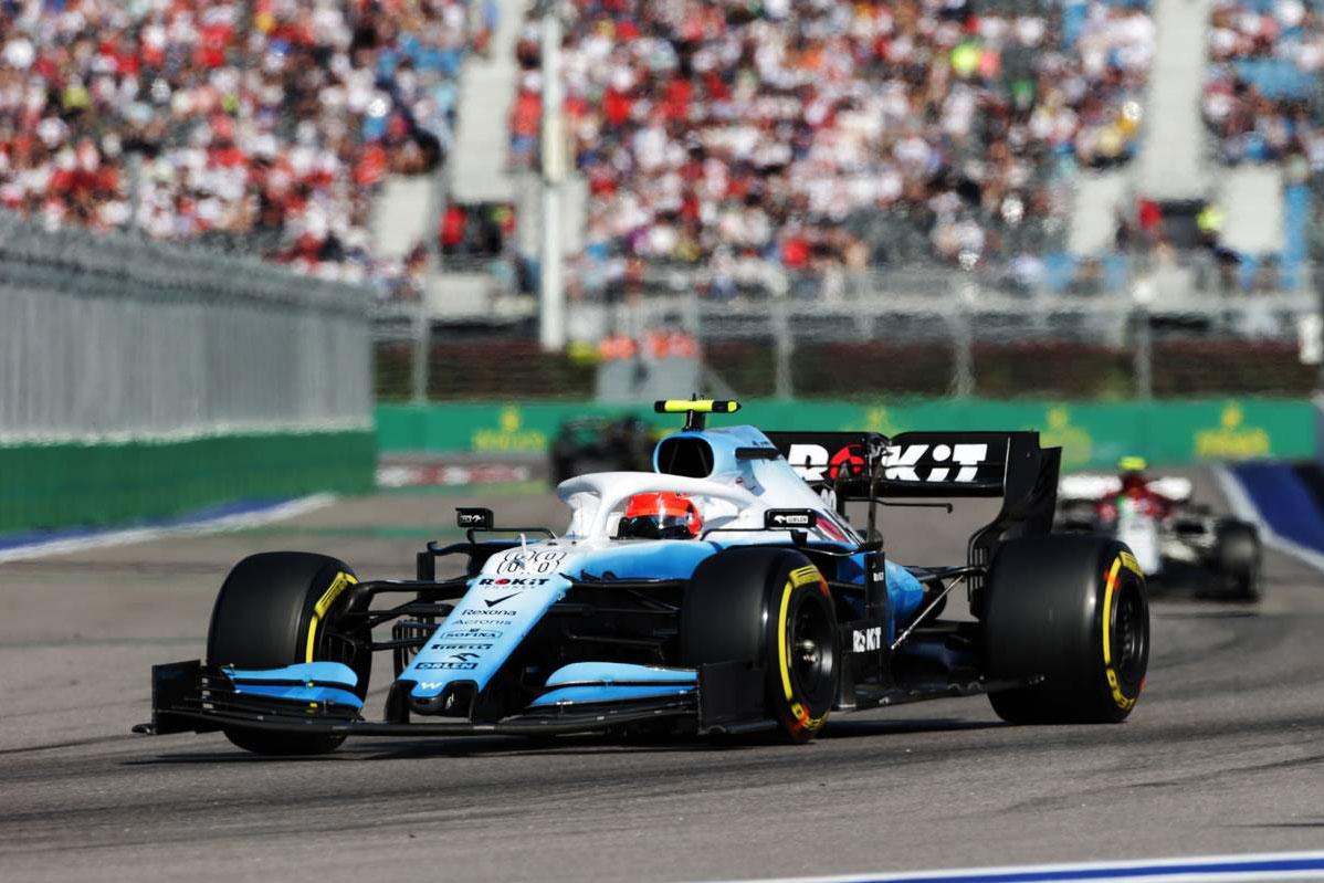 2019年F1第16戦ロシアGP ロバート・クビサ(ウイリアムズ)