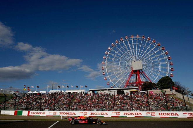 2018年F1日本GP マックス・フェルスタッペン