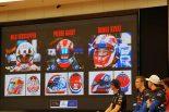 自身のヘルメットポイントを解説する各ドライバー