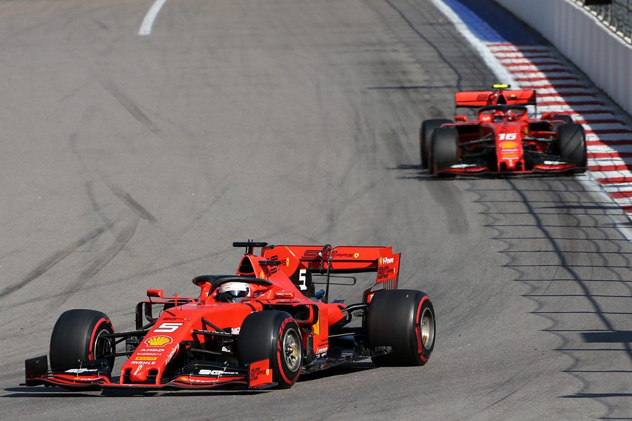 2019年F1第16戦ロシアGP セバスチャン・ベッテル(フェラーリ)