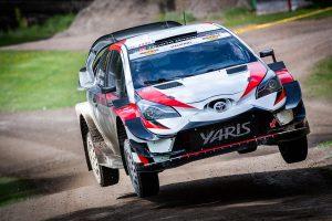 ラリー/WRC | フィンランド国内ラリーを戦った勝田貴元のトヨタ・ヤリスWRC