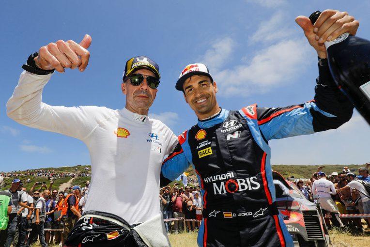 ラリー/WRC | WRC:ヒュンダイ、2020年に向けダニ・ソルドとの契約を延長。全14戦中7戦に出場予定