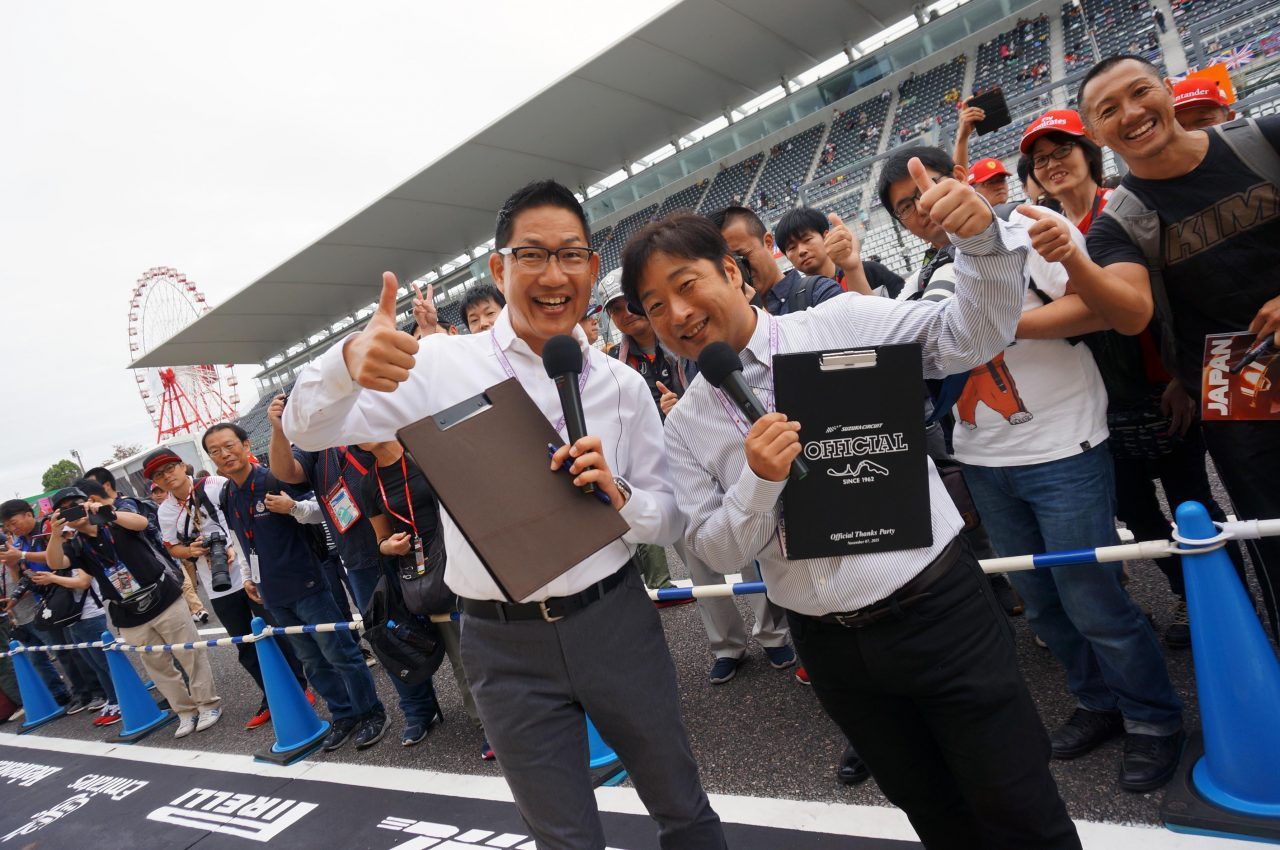 2019年F1日本GP鈴鹿サーキット木曜日