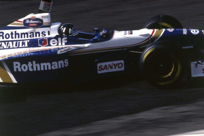 ウイリアムズFW18を駆り1996年のF1ワールドチャンピンとなったデイモン・ヒル