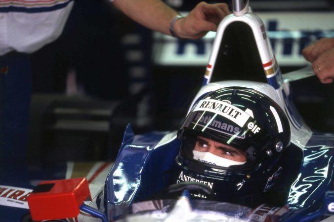 デイモン・ヒルは92年イギリスGPでF1デビュー。93年ウイリアムズに移籍し、96年に8勝を挙げチャンピオン。99年日本GPで引退