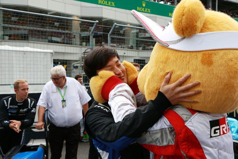 ル・マン/WEC | 決勝前に山下健太をくま吉が激励。玉入れではドライバーも大興奮/WEC富士トピックス