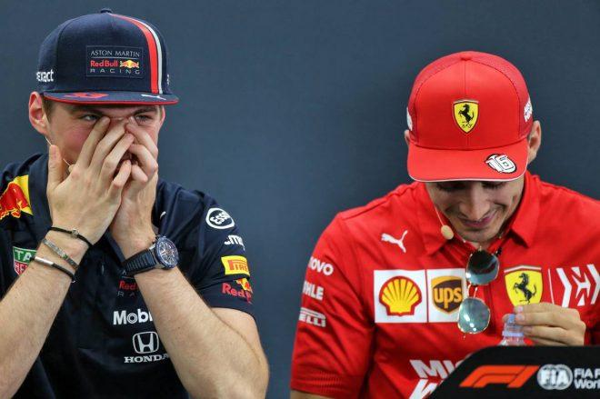 2019年F1第17戦日本GP木曜会見:マックス・フェルスタッペン、シャルル・ルクレール