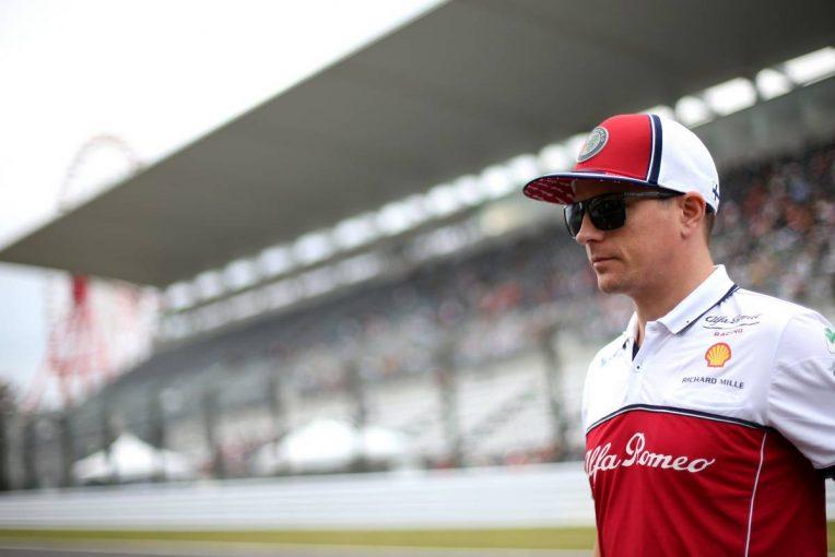 F1   ライコネン「最後のタイヤは良かったが、序盤2スティントはフロントのグリップがなくて機能しなかった」:アルファロメオ F1日本GP日曜