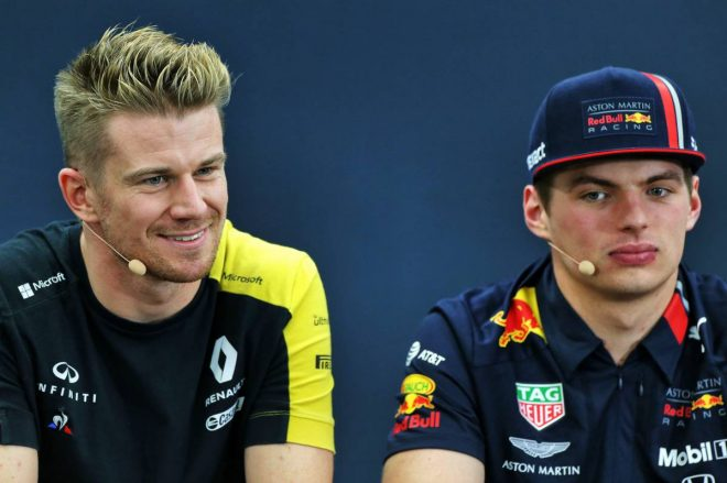 2019年F1第17戦日本GP木曜会見:ニコ・ヒュルケンベルグ、マックス・フェルスタッペン