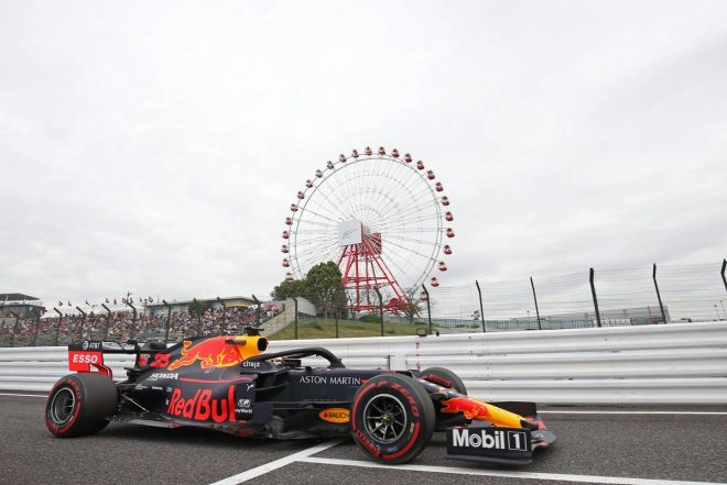 2019年F1第17戦日本GP マックス・フェルスタッペン(レッドブル・ホンダ) FP1は5番手
